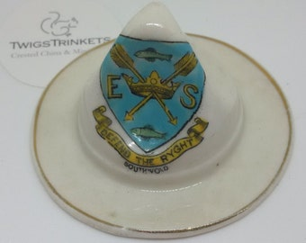 Arcadian Crested China Boy Scout Hat