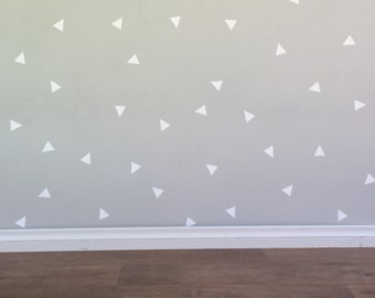 Triangle Wall Decals - Removable vinyl wall decals/stickers