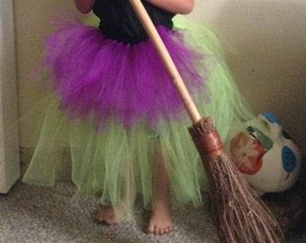 Halloween Witch Tutu Costume (Tutu only)