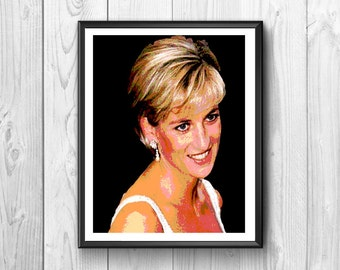 Magnificent poster of Lady Diana Princess In