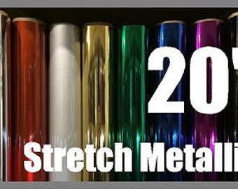 Stretch Metallic HTV Sheets