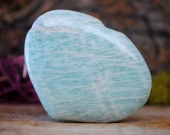 Amazonite Crystal Heart  - 936.76