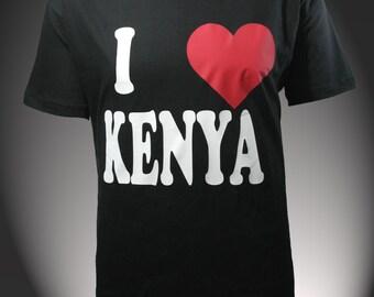 Kenya T,shirt . I love kenya