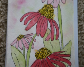 Original Hand Painted Watercolor Notecards 4x6