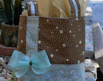 Dots & Paisley Gift Bag