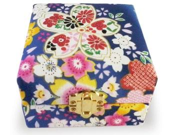 Fabric Jewelry Box, Storage Box