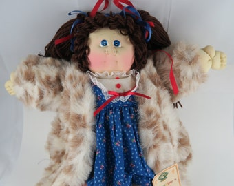 Cabbage Patch Kids Crystal A Kid FOR ALL SEASONS Winter 1985 Stuffed plush