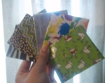 Duct Tape Coin Purses