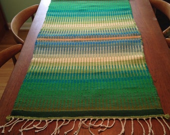 Green Meadow - Norwegian Krokbragd Weaving