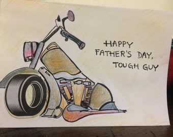 Happy Fathers Day to your tough father