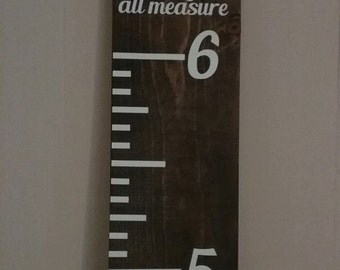 Personalized Growth Chart Ruler