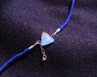 Icy mountain anklet