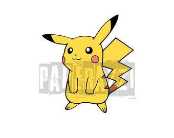 Pokémon SVG FCM DxF Electronic cutting files for Cricut Design Space - Silhouette Studio - MTC