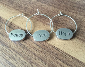 Insperational Wine Charm Set of 3