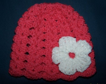 Girls crochet hat