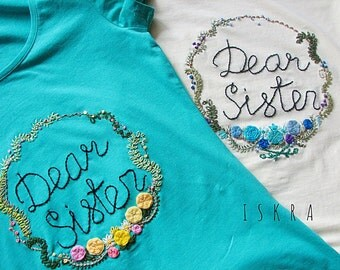 "T-shirts ""Dear sister"""