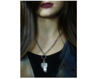 Silver Wrapped Necklace