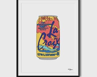 La Croix Pamplemousse 8.5 x 11 Print