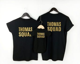 Family Squad Matching Set / Family Name T-shirts