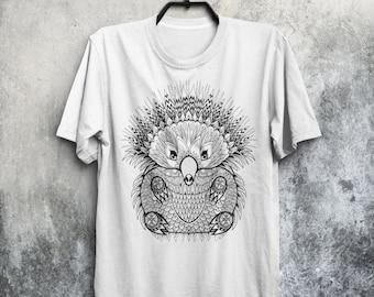 Hedgehog T-shirt Hedgehog Shirt Porcupine Shirt