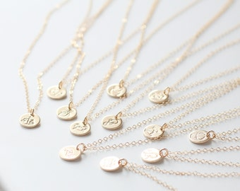 Scorpio Necklace, Zodiac Necklace, Gold Scorpio Necklace, Zodiac Jewelry, November Birthday Gift, Scorpio Sign, Dainty, Small Scorpio Charm