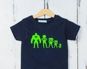 Personalised Superhero T shirt  Kids T shirt Birthday Gift Baby Shower Gift