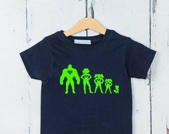 Personalised Superhero T shirt - Kids T shirt, Birthday Gift, Baby Shower Gift