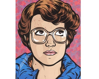 Barb Stranger Things Print