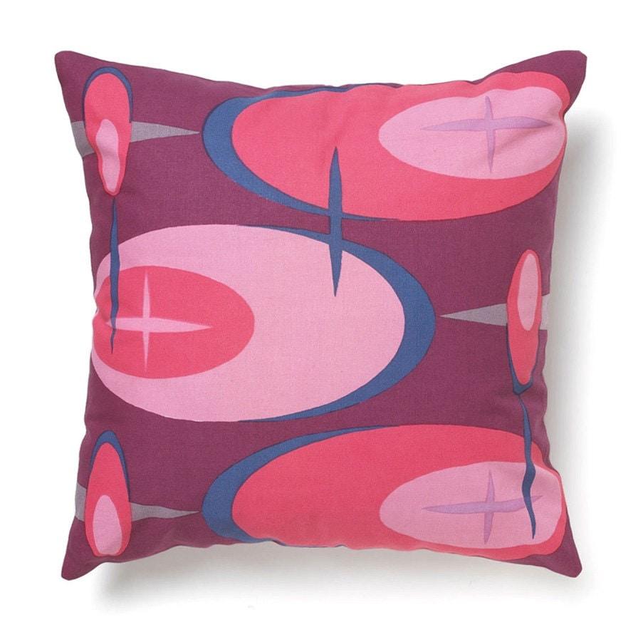 Modern 18x18 Pillow Cover Retrovoids