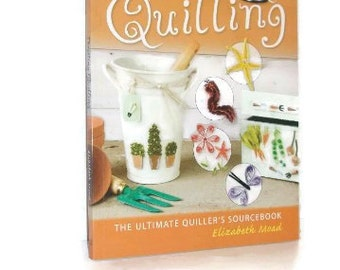 Softcover Book Quilling Instruction   Thrilling Quilling   The Ultimate Quiller's Sourcebook
