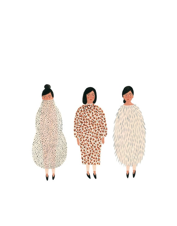 Costumes print 11x14