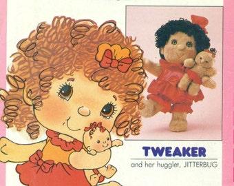 Butterick 3394 HUGGA BUNCH Tweaker / Jitterbug Dolls © 1985