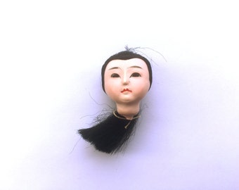 Japanese Doll Head - Vintage Doll Head - Girl Doll Head - Small Doll Head - Woman Doll Head #1-3 Small Size