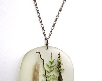 CUSTOM RESIN NECKLACE