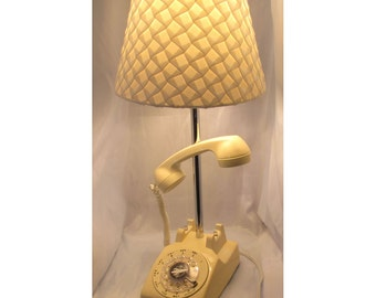 Phone Lamp (white/ivory) -  It's for You...