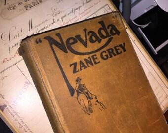 1928 Zane Grey's Nevada