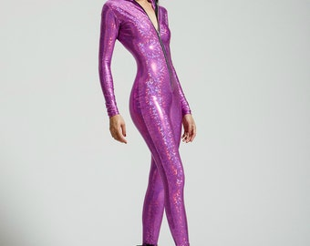 Healing Amethyst Bodysuit Limited Run Color - Free Shipping