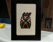 Final Fantasy VI Cross Stitch KIT - choose your character, make your own!!