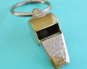 Vintage Acme Thunderer by Gemsco Whistle - Made In England