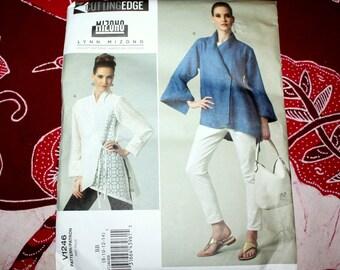 UNCUT Vogue Lynn Mizono Unique Designer Jacket, Size 8 10 12 14