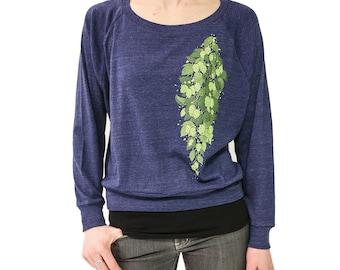burlington vermont sweatshirt vintage inspired sunset by