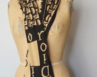 Christian Dior scarf-Dior wool scarf