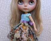 Blythe Batik Print Party Dress
