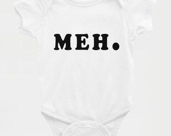 Meh. - Baby Onesie Bodysuit