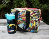 Insulated Lunch Bag Lunch Box Cooler Rectangle Comic Book Superheroes Marvel Made To Order