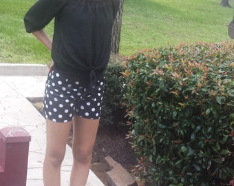PS Polka Dot Fitted Shorts