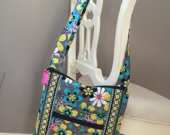 Modified Two Zip Hipster in Far Out Floral
