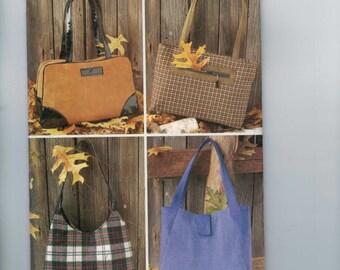 Craft Sewing Pattern Butterick 3282 Purse Handbag Bag UNCUT