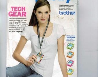 Craft Sewing Pattern Simplicity Promotional Pattern iPod Cover Lanyard Tech Gear UNCUT