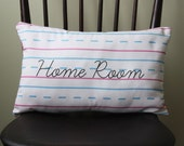 Penmanship Pillow - Home Room // School // Handwriting // Personalized Teacher Gift // Elementary School // First Second Third Grade